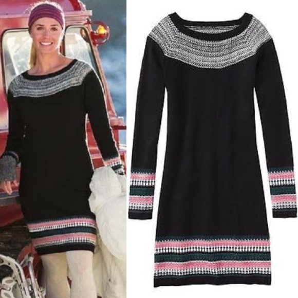 74% off Athleta Dresses & Skirts - Athleta Fair Isle Sweater Dress ...